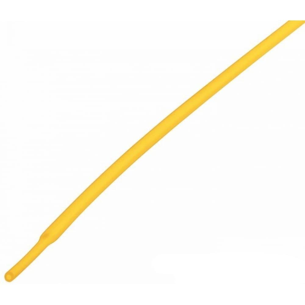 Купить Термоусадка rexant 1.0/0.5 мм, 1 м, желтая 20-1002
