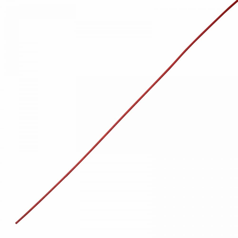Купить Клеевая термоусадка rexant 4.8/1.6мм, 3:1, 1м, красная 26-4804