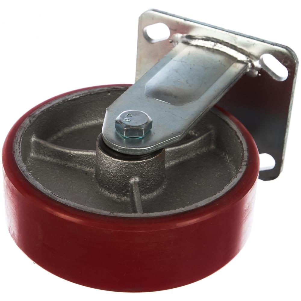 Купить Колесо неповоротное, полиуретановое с чугунным сердечником (152 мм; 360 кг) стелла 1041-152