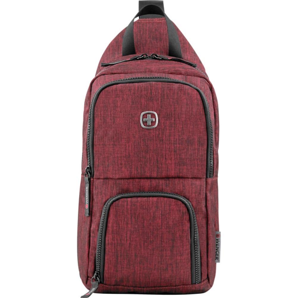 Купить Рюкзак (бордовый, 8 л) wenger urban contemporary 605030