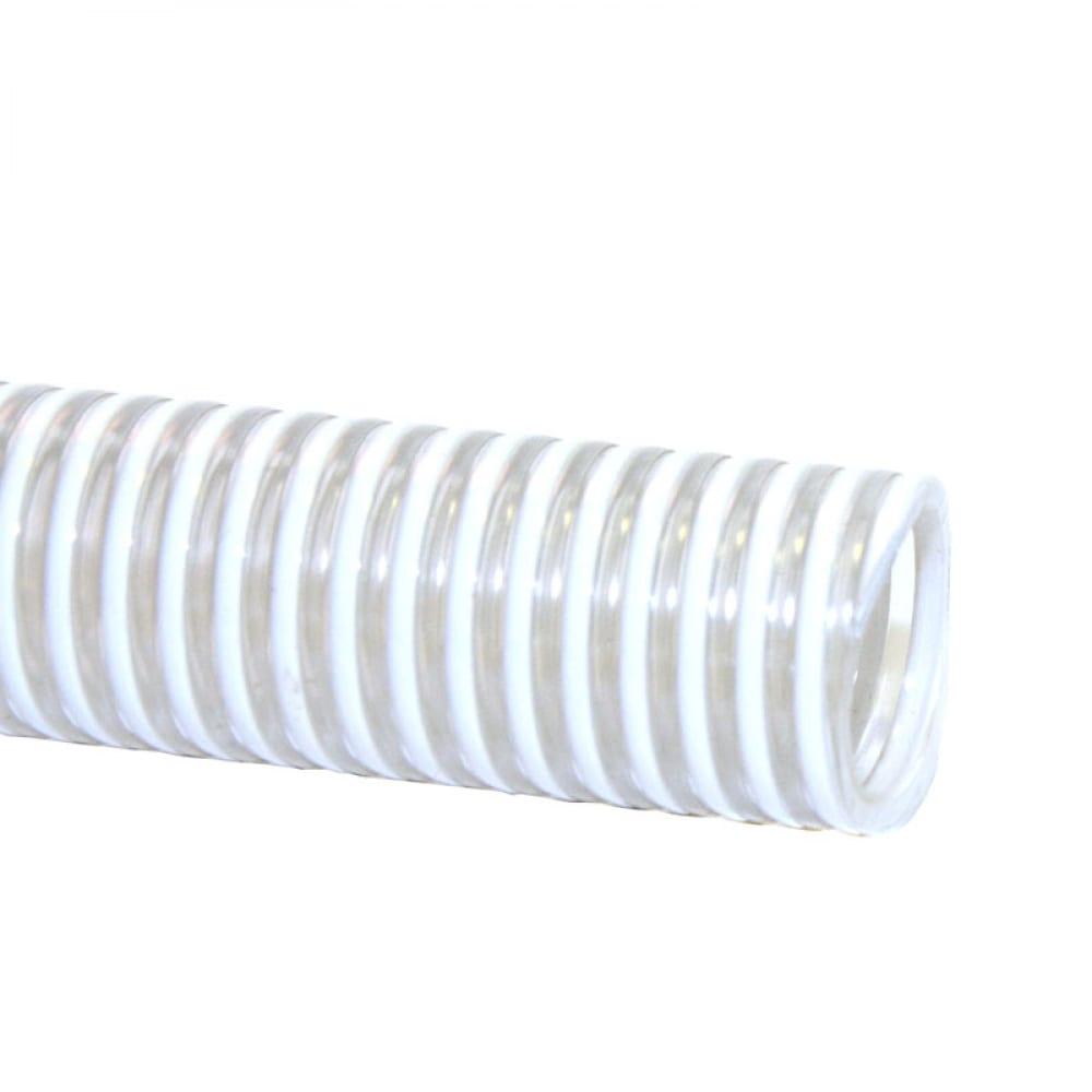 Шланг напорно-всасывающий белый 1 х 25м профитт 7760343-1.