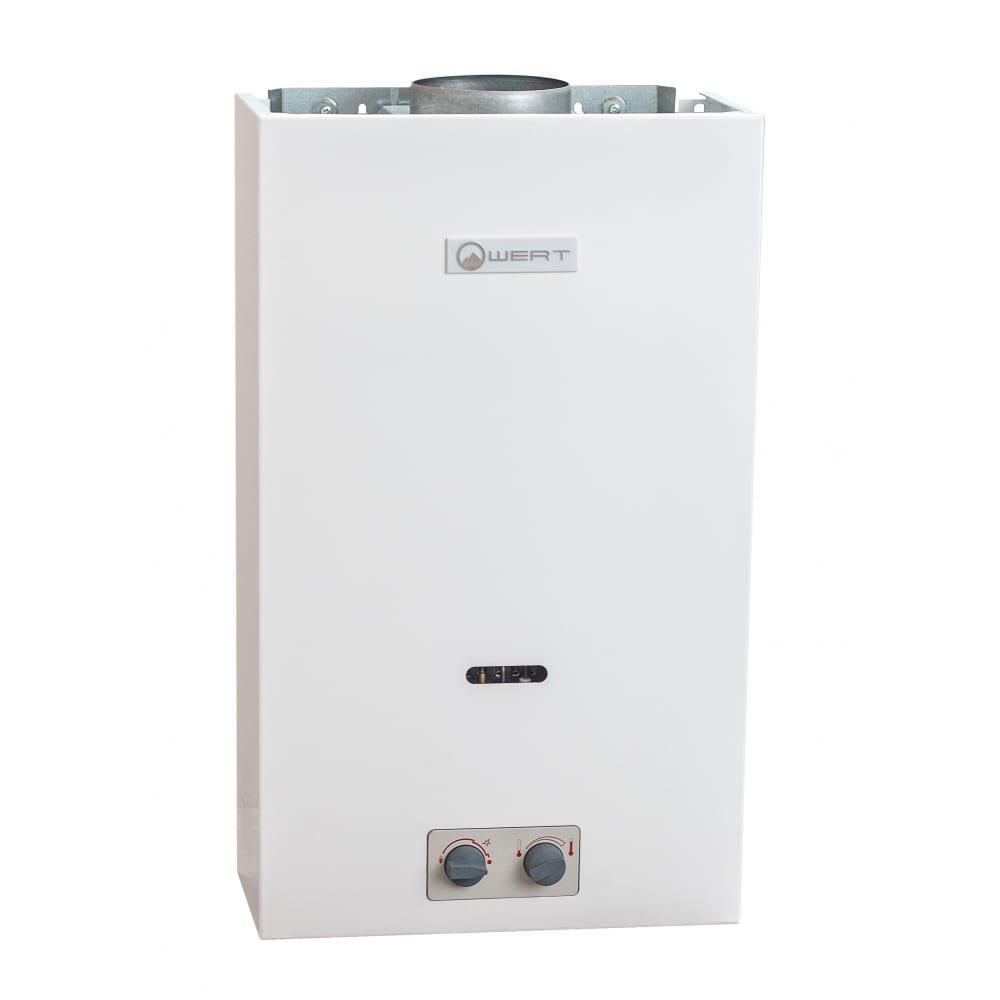Купить Газовый проточный водонагреватель wert 10р белый w1410p