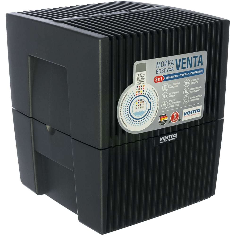 Увлажнитель-очиститель воздуха venta черный lw15 anth