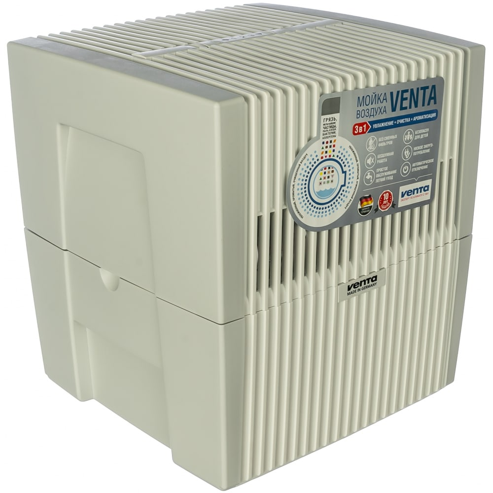 Увлажнитель-очиститель воздуха venta белый lw25 weiss