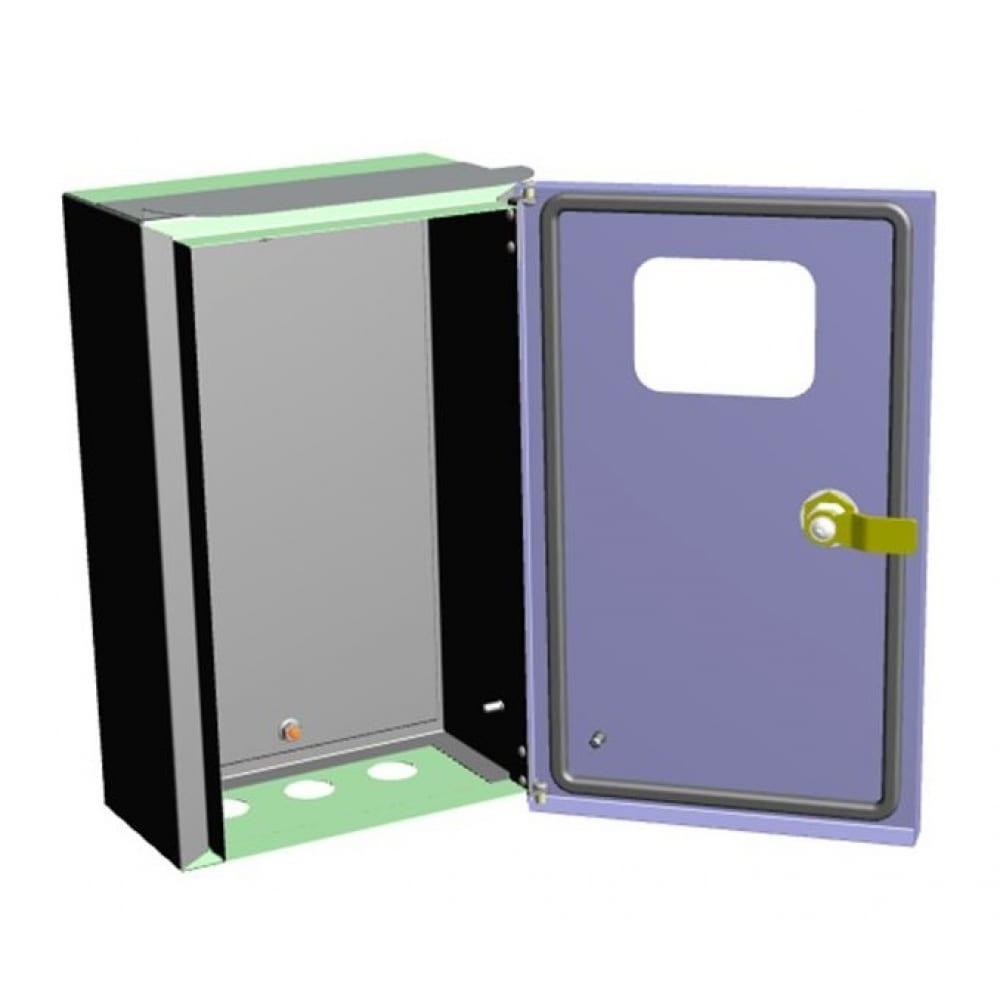Купить Металлокорпус эра щу-мп 370х325х180 ip55 с окном и кронштейном для крепления к столбу б0032664