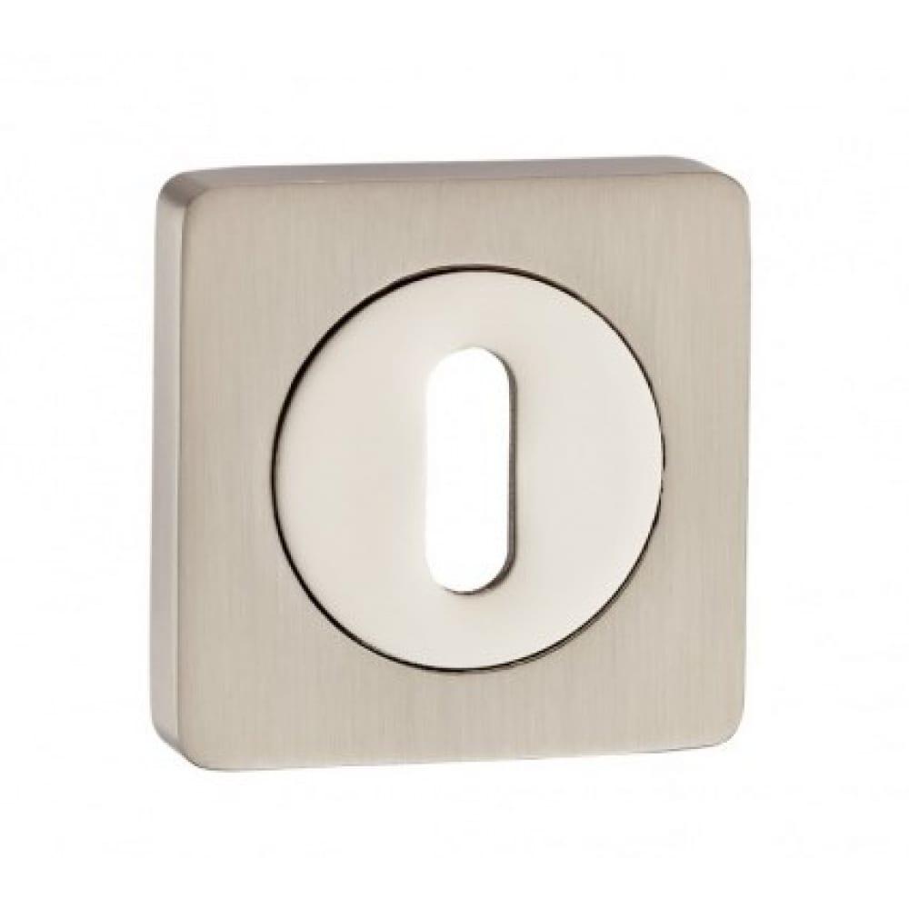 Купить Накладка под сувальдный ключ (никель матовый/никель блестящий) puerto ob al 02 sn/np