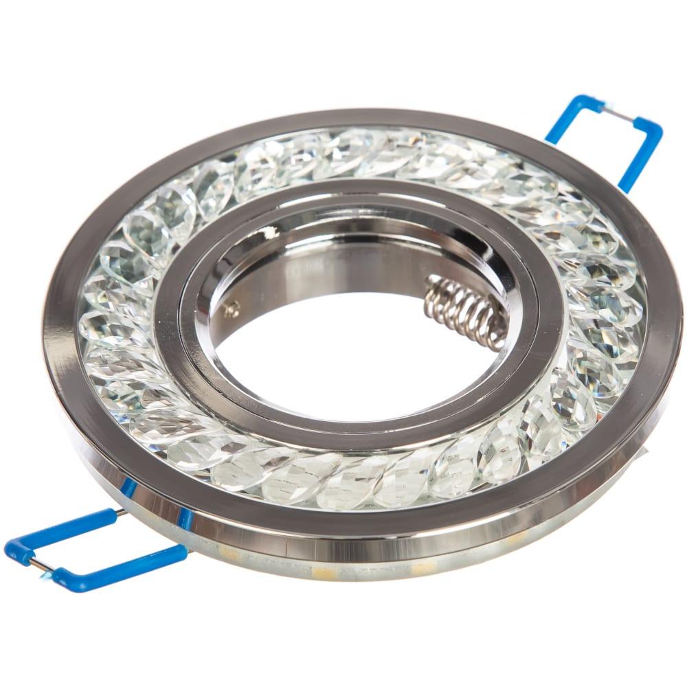 Купить Встраиваемый светильник elektrostandard 8355 mr16 cl ch прозрачный хром a037508