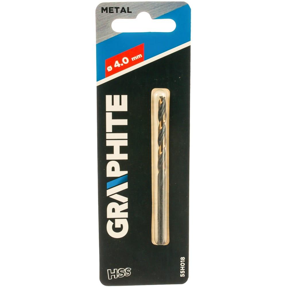 Купить Сверло по металлу hss-cnc pro-tec (4х75х43 мм) graphite 55h018