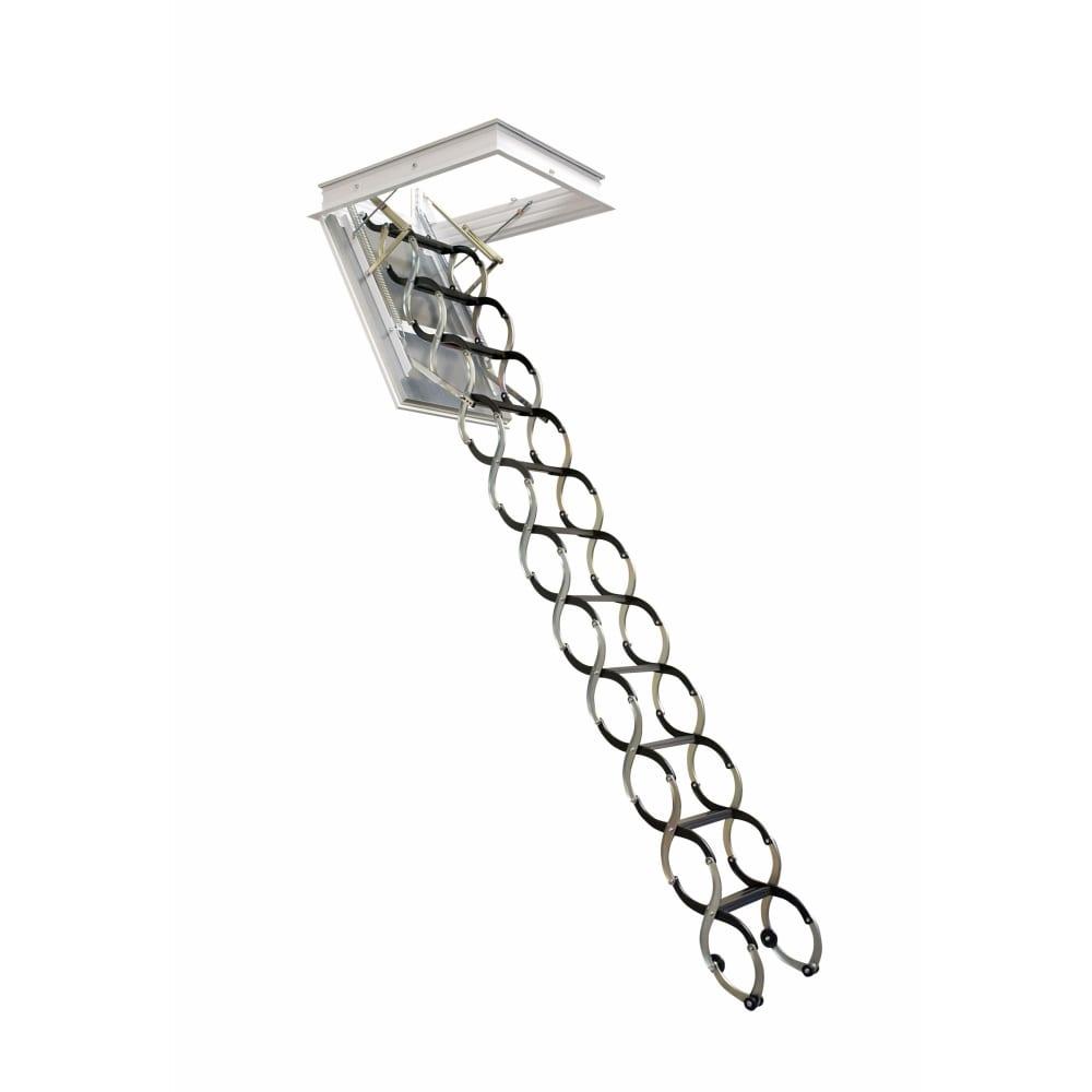 Чердачная лестница oman nozycowe lux 70х100, высота