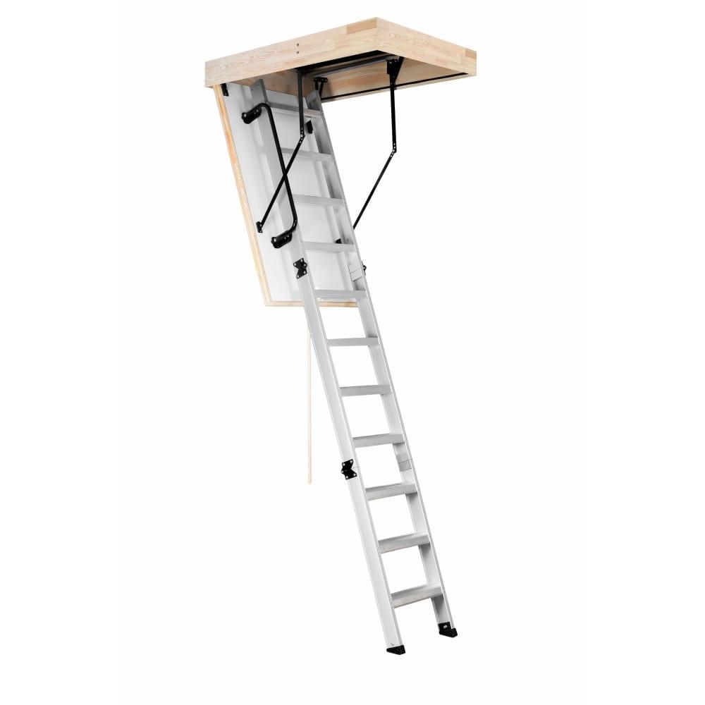 Чердачная лестница oman alu profi 60х110см, высота 280см ут000028129  - купить со скидкой