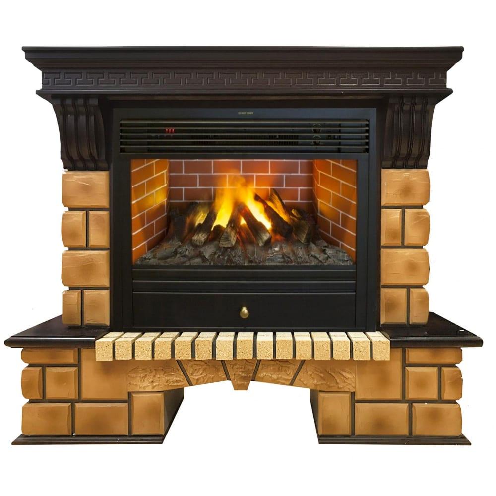 Купить Электрический камин realflame california brick 3d 26+3d novara 10014148