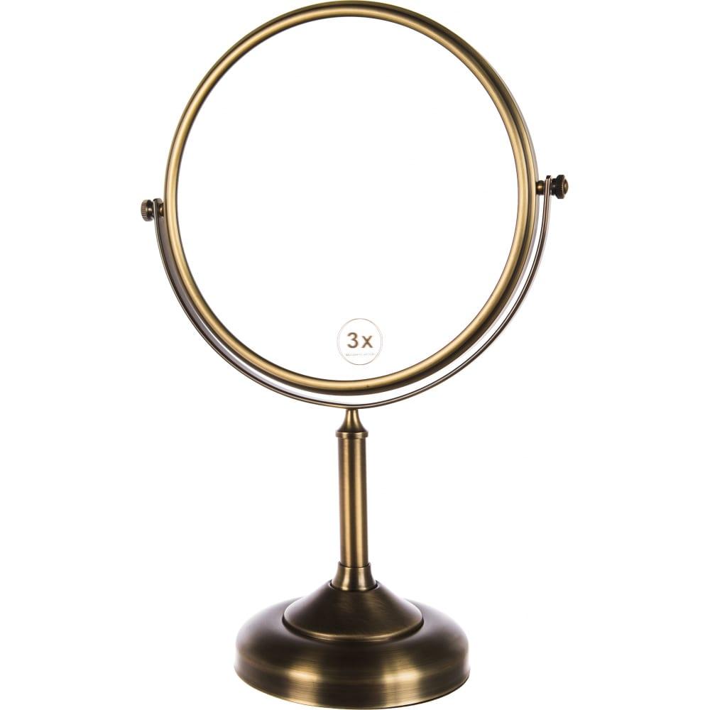 Купить Косметическое настольное зеркало fixsen antik 61121a