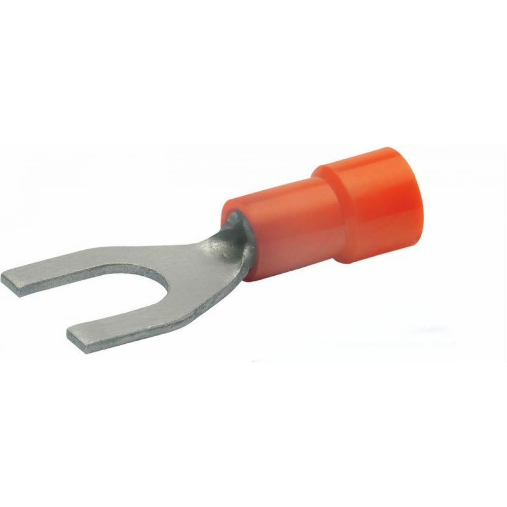 Вилочный наконечник klauke 0,5-1,0мм2 под винт м 3,5 красн. klk620c35