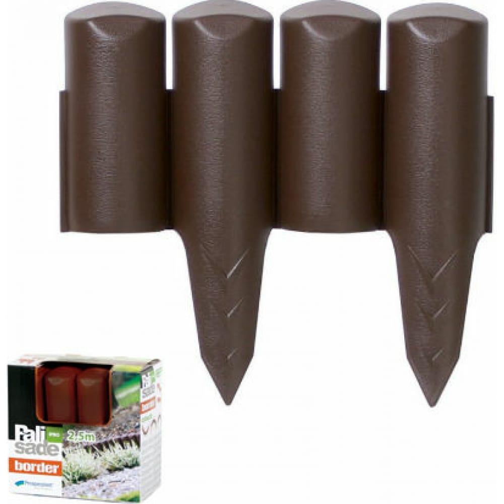 Купить Бордюр для сада, коричневый prosperplast palisada border ipbo-r222