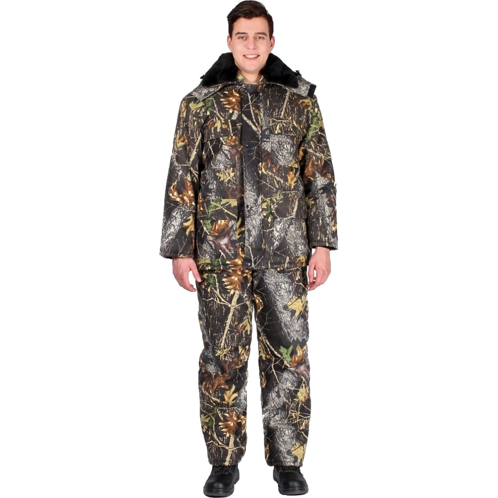 Зимний костюм факел охота кмф лес, р.44-46, рост 170-176 54859000.010