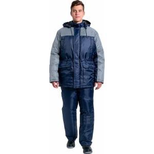 Зимний костюм факел балтика new темно-синий/серый, р. 56-58, рост 182-188 см 87469266.006