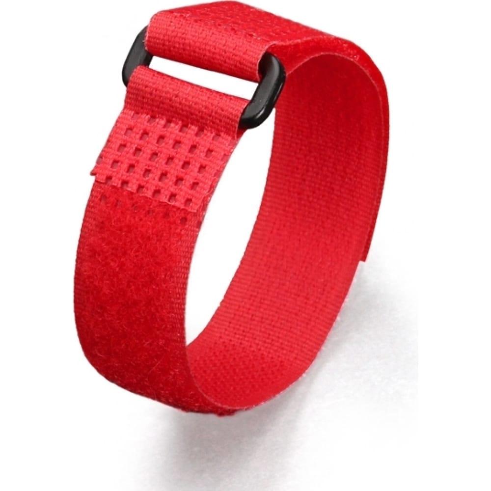 Купить Стяжки велькро fortisflex ксв-п 25х300 красные 75050