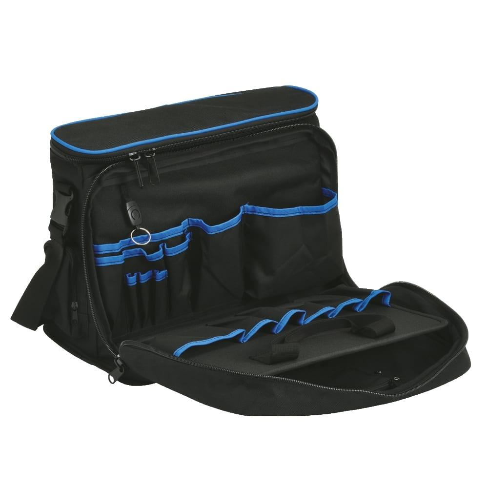Профессиональная комбинированная сумка для хранения и переноски ноутбука и инструментов klauke klkkl905l