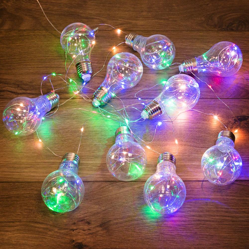 Светодиодная гирлянда neon night ретро лампы,
