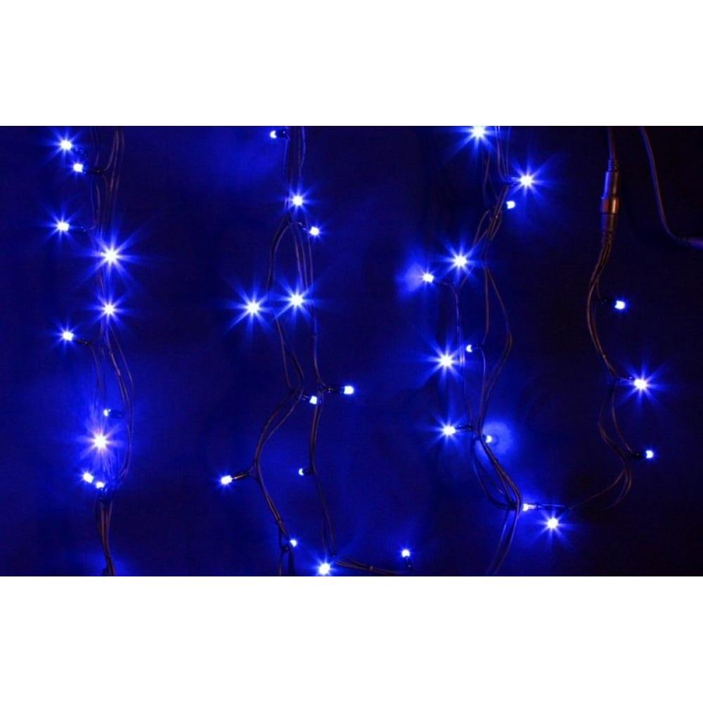 Купить Гирлянда neon-night дюраплей 20м, 4 модуля x 5м, черный каучук, 200 (50x4) led синие 315-153