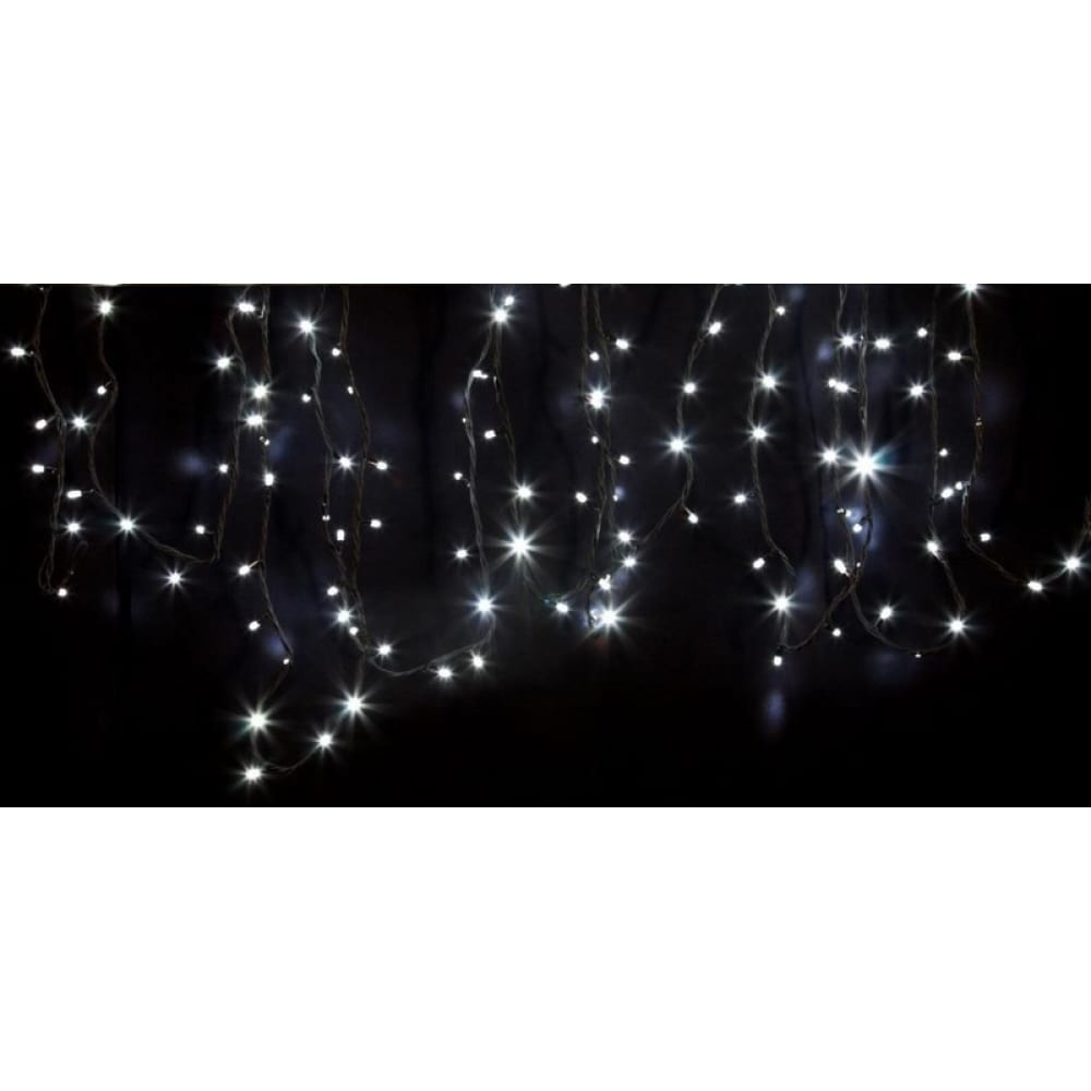 Купить Гирлянда neon-night дюраплей 20м, 4 модуля x 5м, черный каучук, 200 (50x4) led белые 315-155
