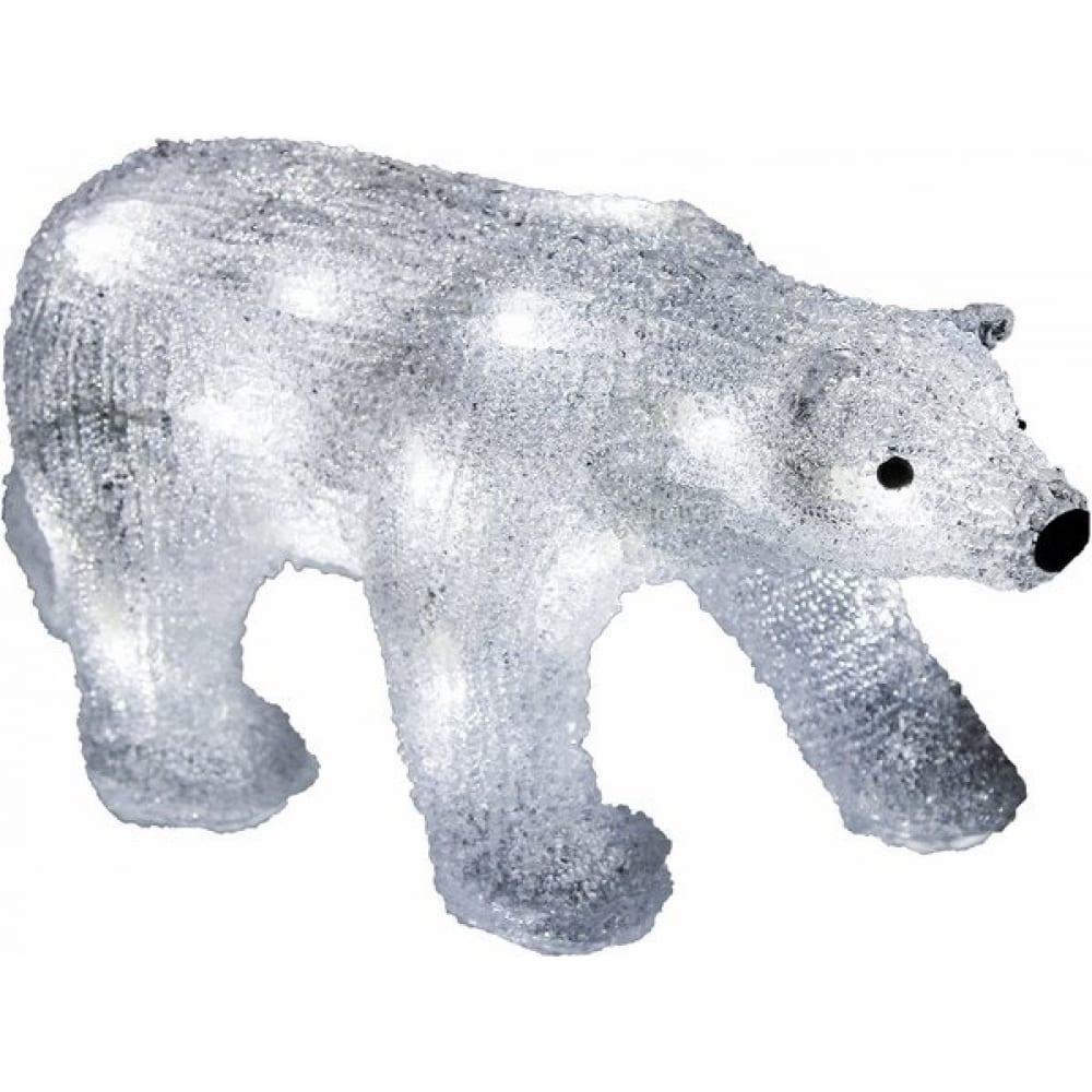 Акриловая светодиодная фигура neon night медведь