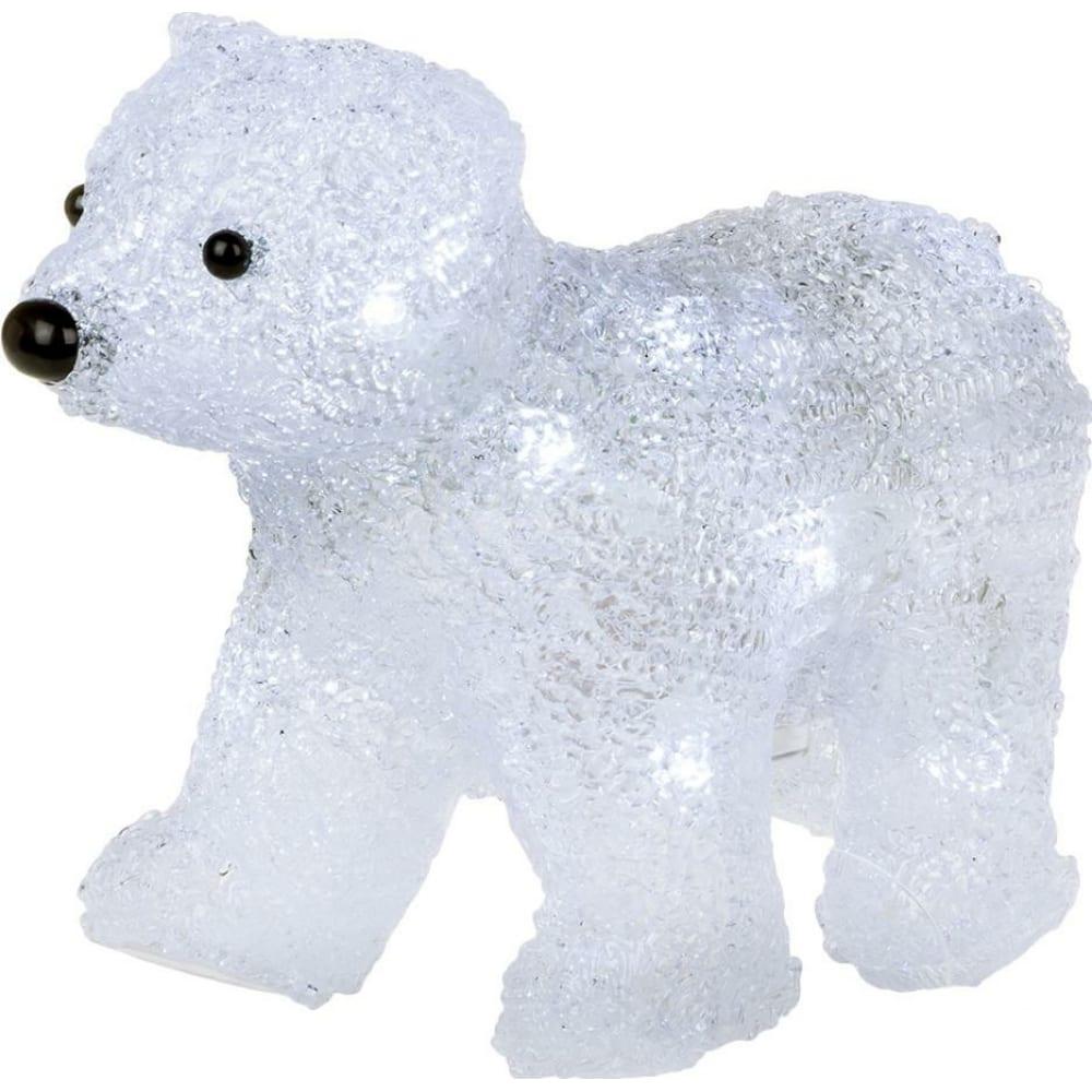 Акриловая светодиодная фигура neon night медвежонок