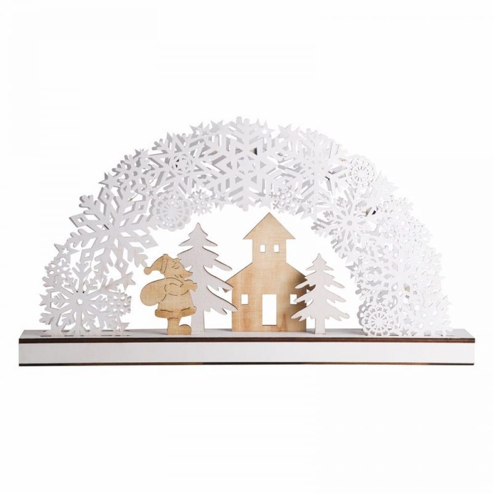 Купить Деревянная фигурка с подсветкой neon-night рождественская сказка 504-021