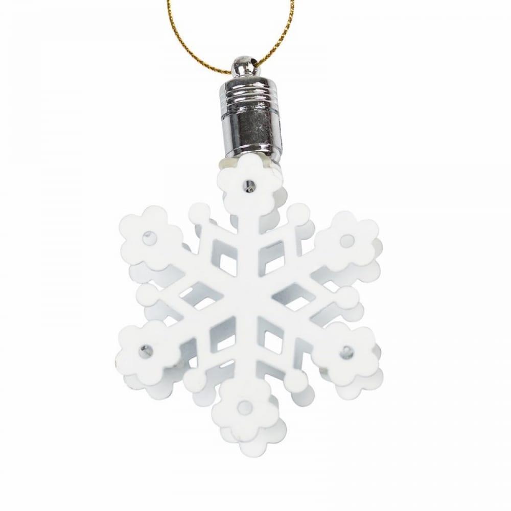 Подвесная фигурка neon night снежинка 6х6