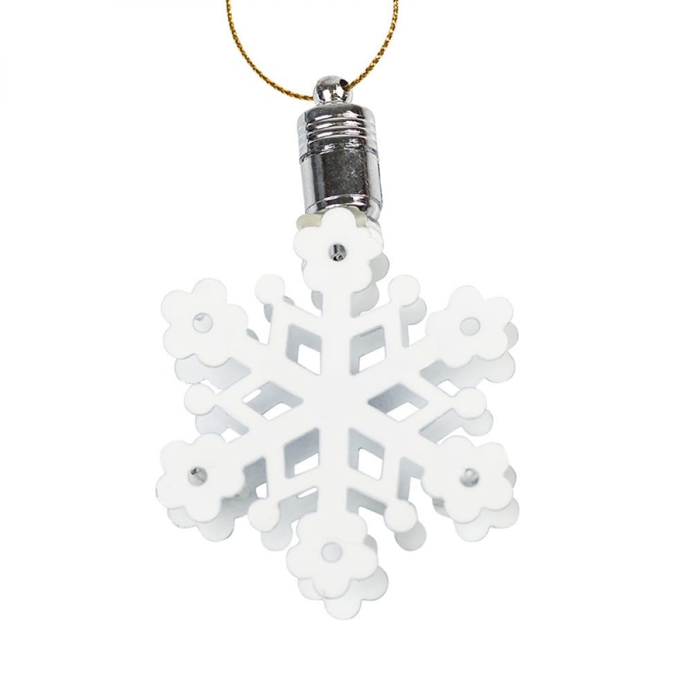 Подвесная фигурка neon night снежинка 7х6