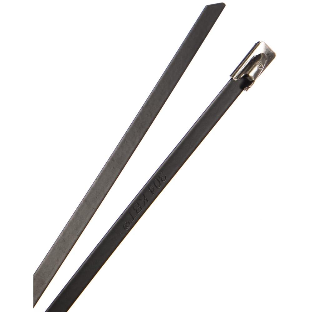 Купить Стальные стяжки с покрытием fortisflex скс-п 304 4.6х600 74937