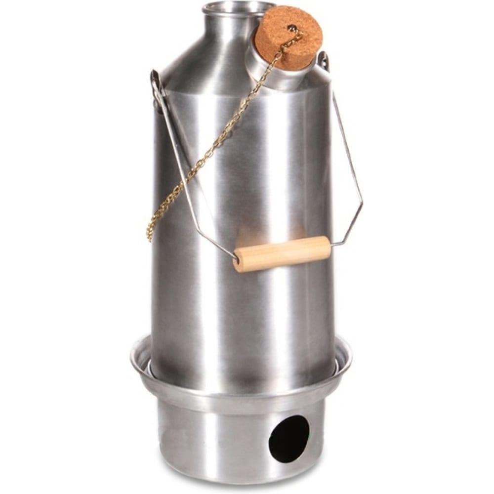 Самовар kelly kettle base camp alumin