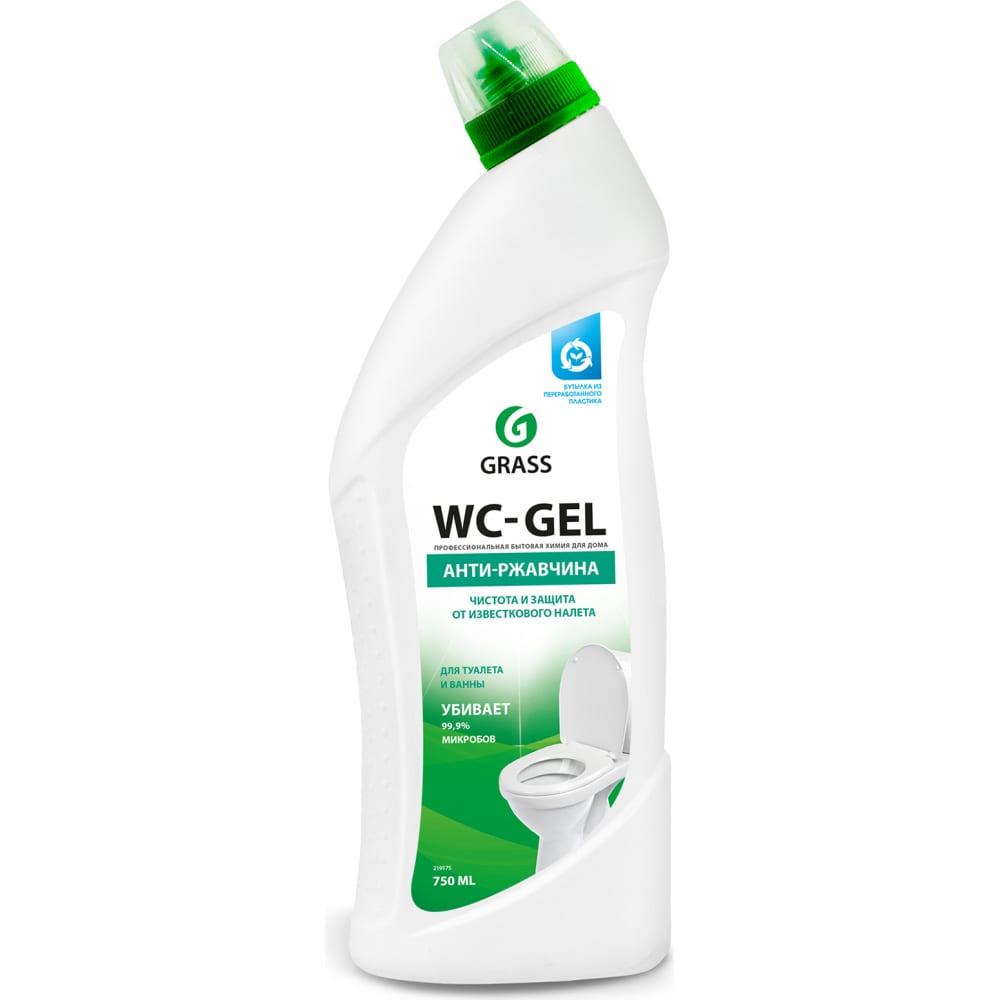 Средство для чистки сантехники grass wc- gel 219175