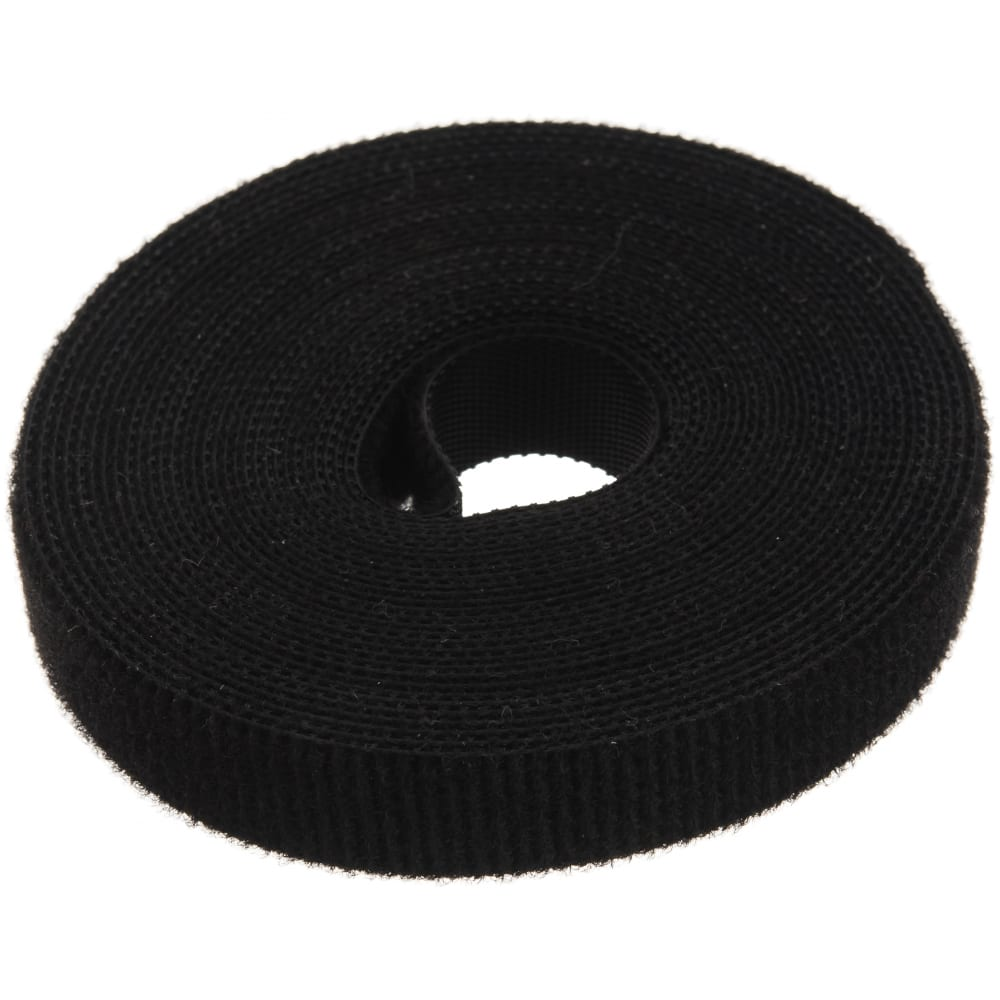 Универсальная лента велькро (5мх165мм, черная) fortisflex лву 78435