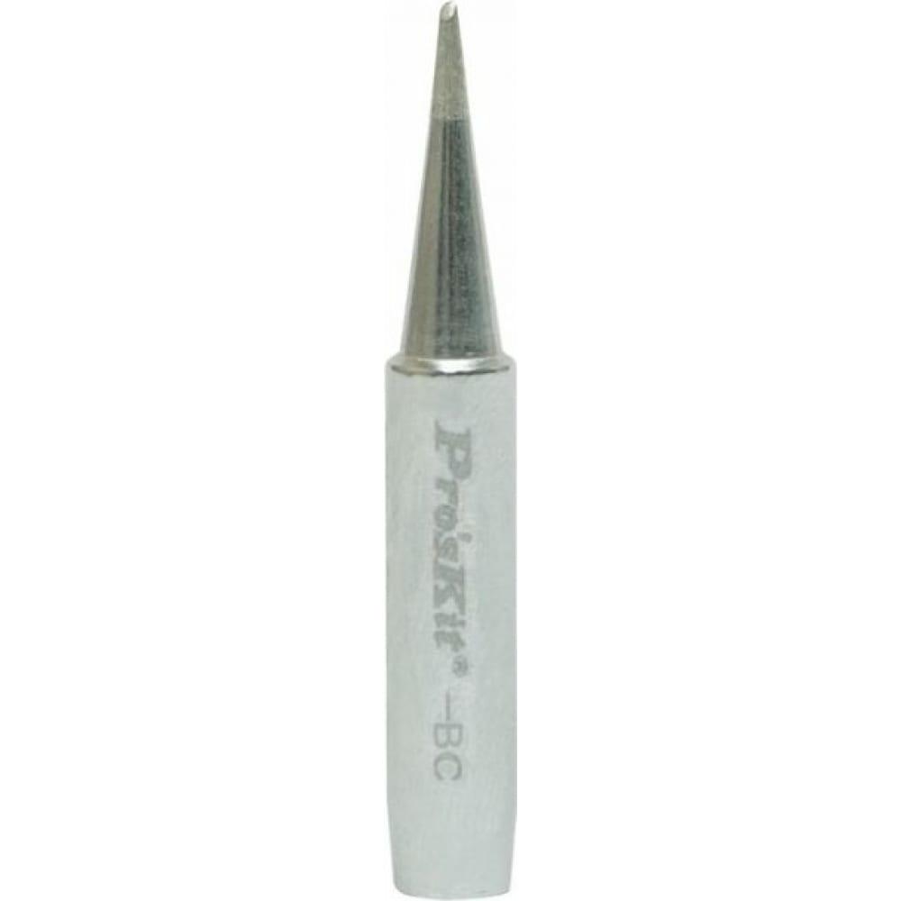 Купить Жало конус со скосом 1 мм для паяльных станций proskit 5si-216n-bc 00274317