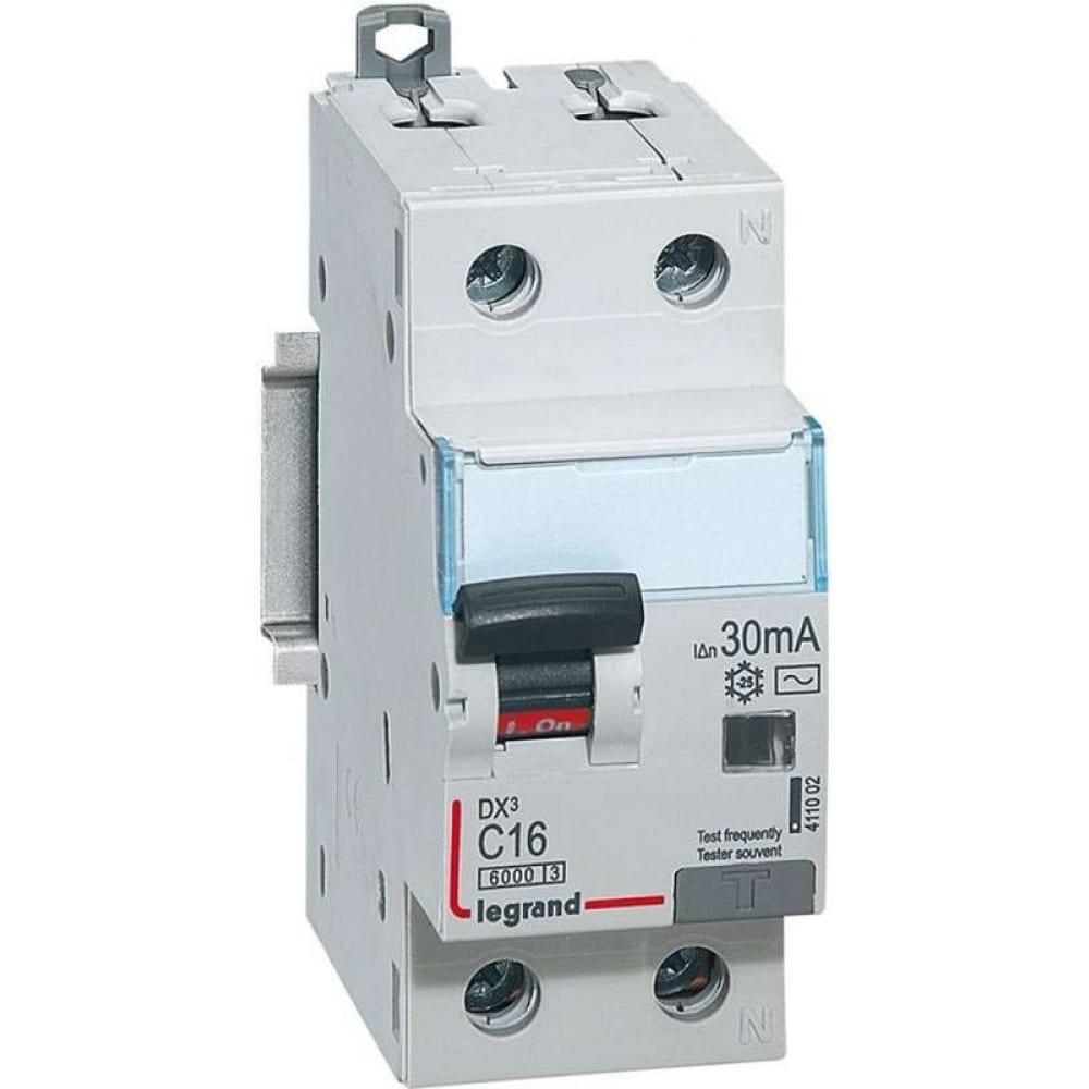 Автоматический выключатель дифференциального тока legrand (1p+n) leg 411002 1009914