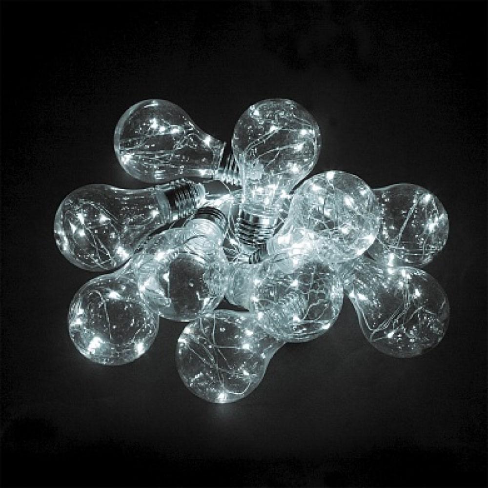 Гирлянда feron 100 led, 5000k, 10 подвесов,