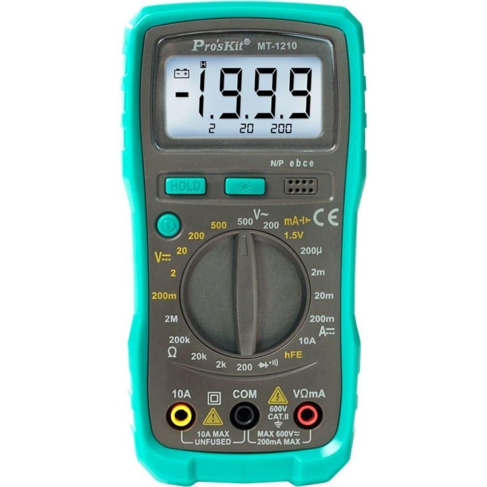 Мультиметр proskit mt-1210 00313351