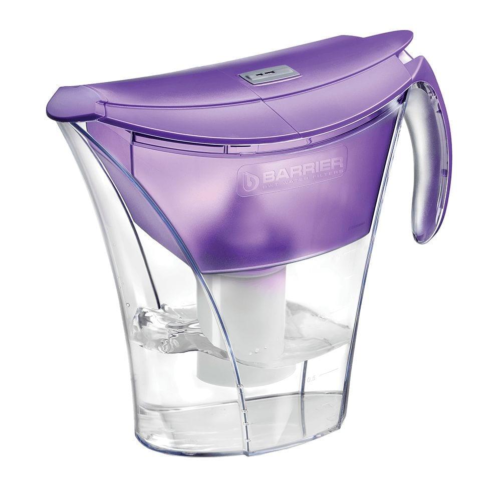 Фильтр-кувшин для очистки воды барьер смарт 3,3 л, цвет фиолетовый