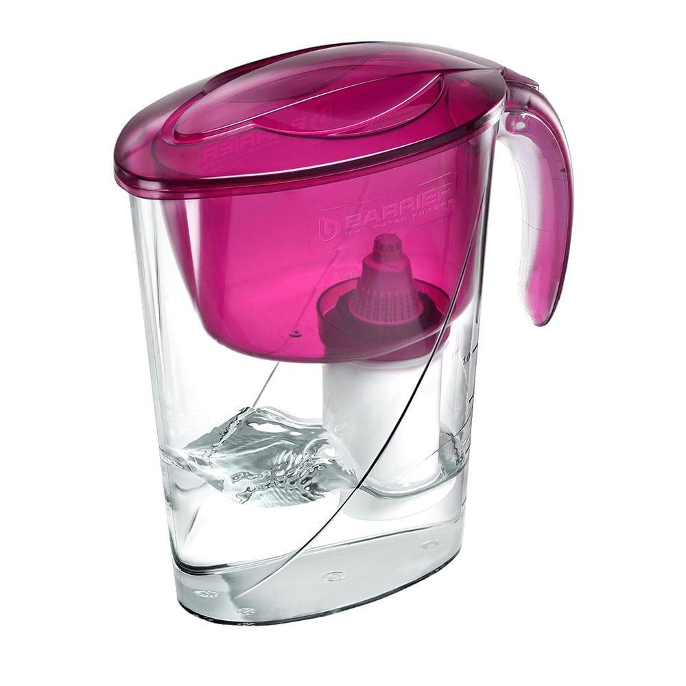 Фильтр-кувшин для очистки воды барьер эко 2,6 л, цвет пурпурный