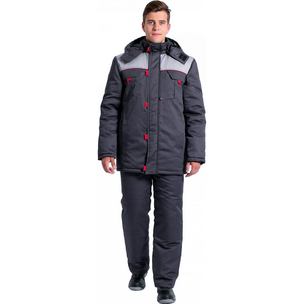 Зимняя мужская куртка факел фаворит new темно-серая/серая, размер 64-66, рост 182-188 87469380.012Утепленные куртки<br>Тип: мужская ;<br>Цвет: темно-серый/серый ;<br>Max температура: -41 °C;<br>Ткань: смесовая ;<br>Состав ткани: 65% - полиэстер, 35% - хлопок ;<br>Плотность ткани: 210 г/кв.м;<br>Размер: 64-66 ;<br>Рост: 182-188 ;<br>Пропитка: водоотталкивающая ;<br>Капюшон: есть ;<br>Тип застежки: молния ;<br>ГОСТ\ТУ: ГОСТ Р 12.4.236-2011 ;<br>Единиц в упаковке: 1 шт.;<br>Защитные свойства: от пониженных температур ;<br>Утеплитель: синтепон ;<br>Международный размер: 7ХL (64-66) ;<br>Светоотражающие элементы: нет ;