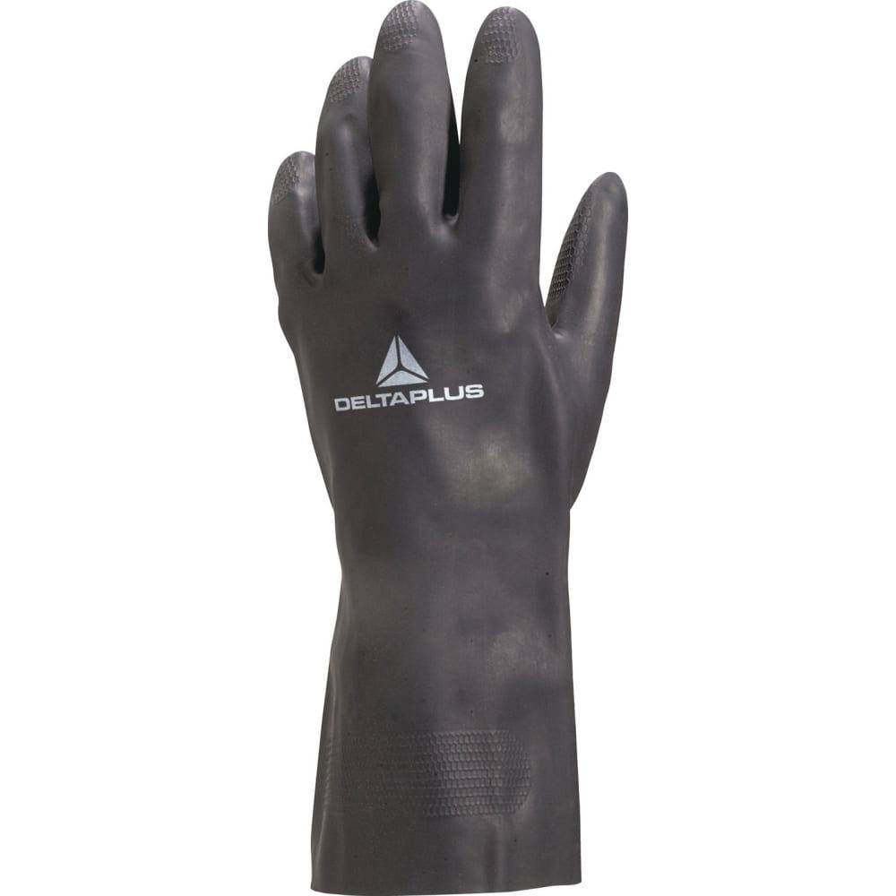 Перчатки из неопрена delta plus ve509 р. 9 ve509no09Неопреновые<br>Вес: 0.14 кг;<br>Материал: неопрен ;<br>Тип: кислотощелочестойкие ;<br>Назначение: технические ;<br>Размер: 9 ;