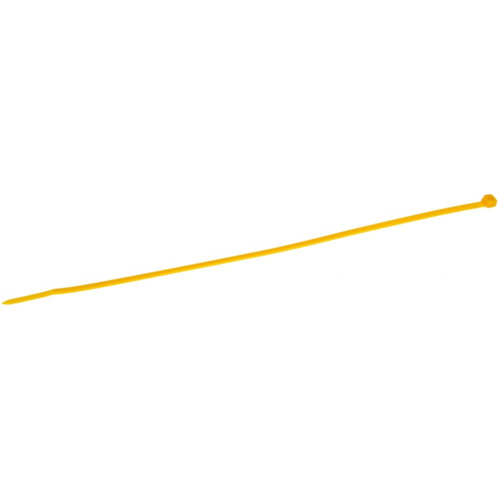 Купить Нейлоновые стяжки fortisflex ксс 5х300 желтый 100 штук 61331