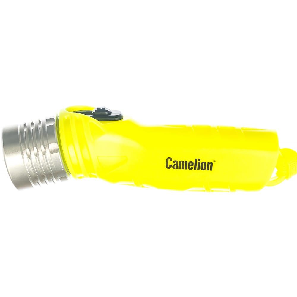 Фонарь camelion led51534, желтый, led 3w seoul