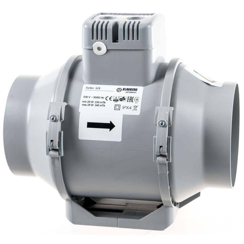 Купить Канальный вентилятор смешанного типа blauberg turbo 125 100438311
