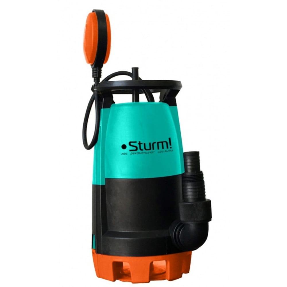Погружной дренажный насос sturm wp9745pu