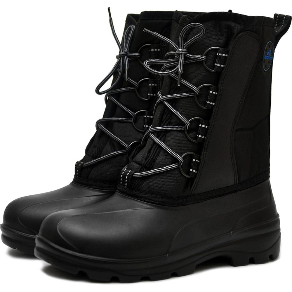 Комбинированные мужские сапоги на шнурках nordman с галошей эва 517053_01-901-44/45