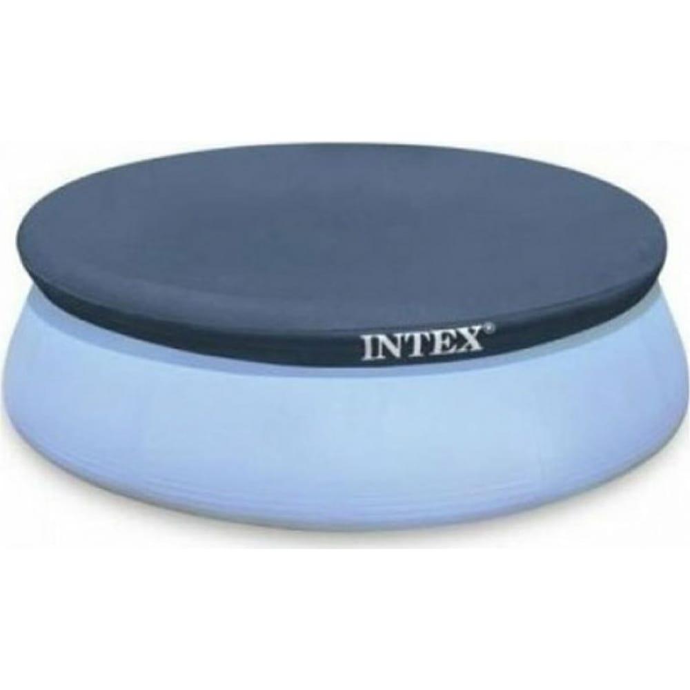 Тент для надувного бассейна intex easy set 396см 28026