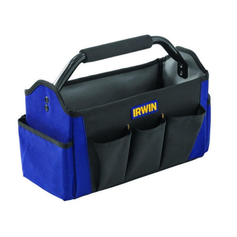 Открытая сумка для инструмента irwin foundation 450мм t18o 2017829  - купить со скидкой