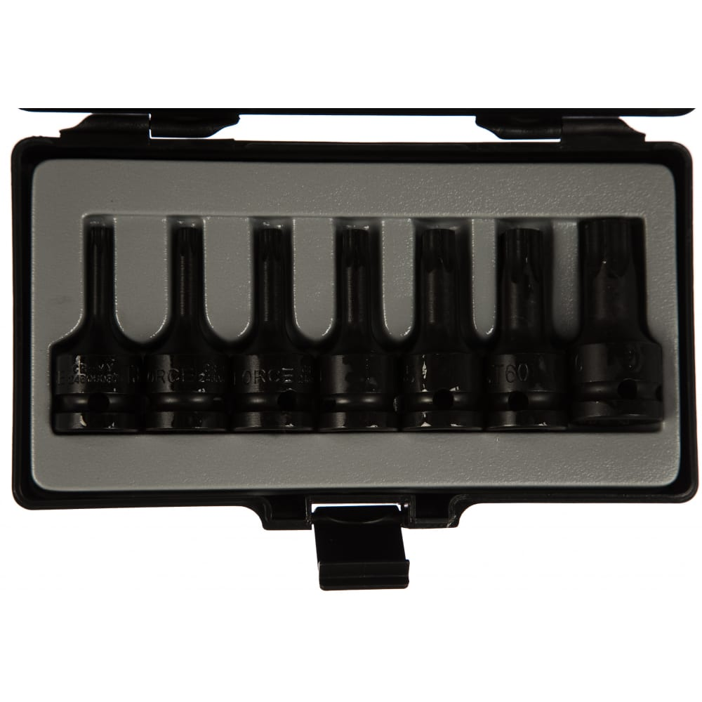 Купить Набор головок torx-имбус 1/2 для пневмоинструмента force 4078